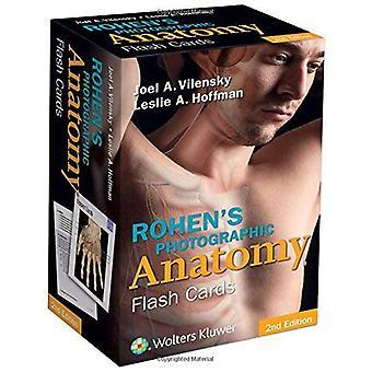 Rohens fotografiska anatomi Flash-kort