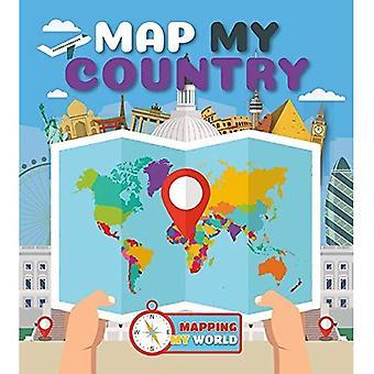 Karte von meinem Land (Kartierung meine Welt)