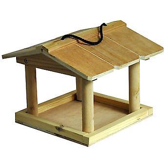 Naturen markt HBT opknoping houten tuin wilde vogels moer zaad meelworm niervet Feeding Station tabel