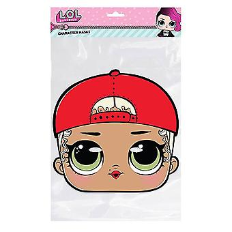 M.C. Swag LOL Surprise Single 2D Card Party Fancy Dress Mask