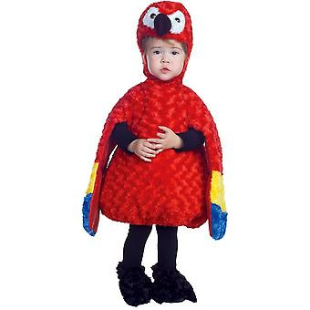 Colorful Parrot Toddler Costume