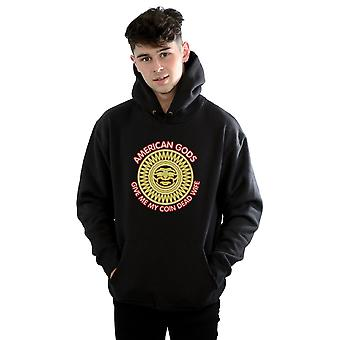 American Gods Men's Mad Sweeney Where's My Coin Neon Hoodie