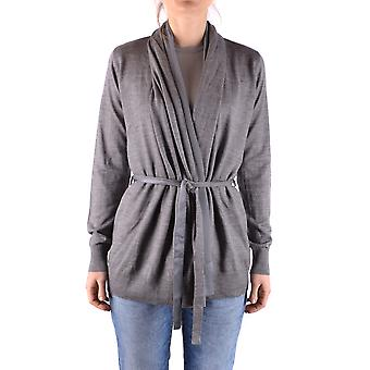 Liu Jo Ezbc086051 Women's Grey Acrylic Cardigan