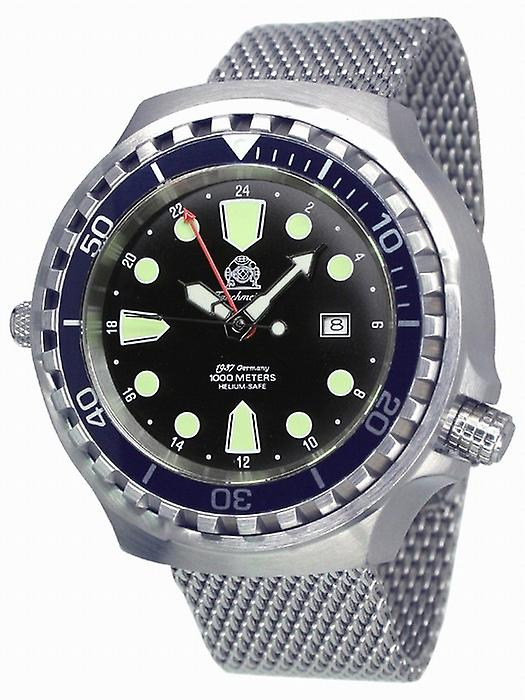 Tauchmeister Xxl Automatic dive watch T0266mil 1000 m