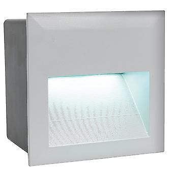 Eglo Zimba Exterior LED cuadrado empotrado de pared