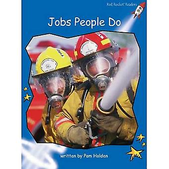 Red Rocket Readers - Early Level 3 Non-Fiction Set A - Jobs People Do B