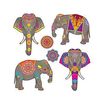 Elefantti Cutouts