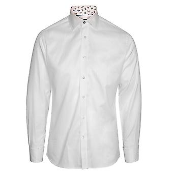 Duchamp of London Gentleman's Contrast Shirt, 900 / White