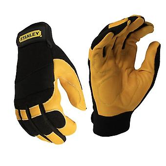 Stanley Mens Hybrid Performance Suede Gloves
