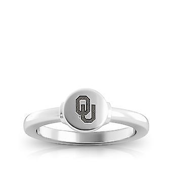 L'Università di Oklahoma Ring In Sterling Silver Design di BIXLER