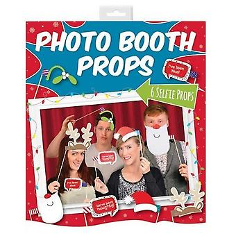 Xmas 6 Photo Booth rekvisitter