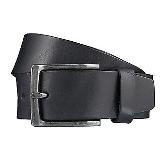DANIEL HECHTER belts men's belts leather belt black 3852