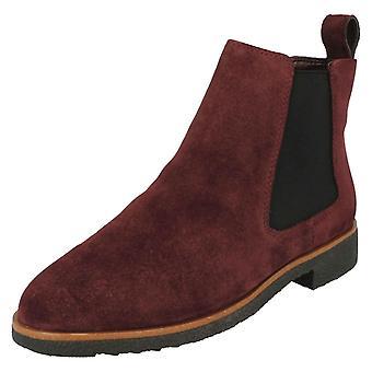 女士 克拉克时尚 切尔西 靴子 格里芬广场