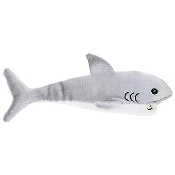 Finger Puppet - Shark (Great White) New Soft Doll Plush PC002106