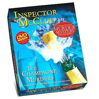 Paul Lamond Inspector McClue The Champagne Murders Murder Mystery Dinner Party Game