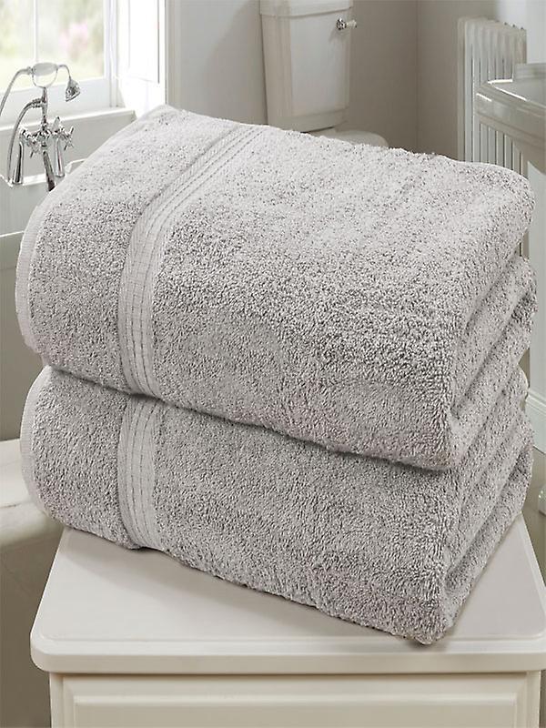 Royal Kensington 2 Piece Towel Bale Silver