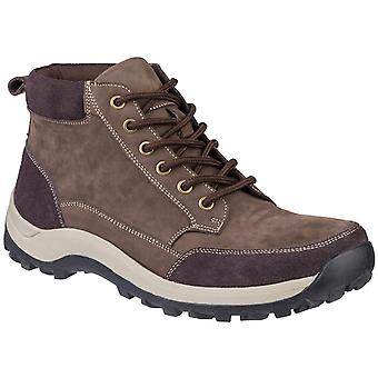 Cotswold Herre Slad Lace Up Boot Brown