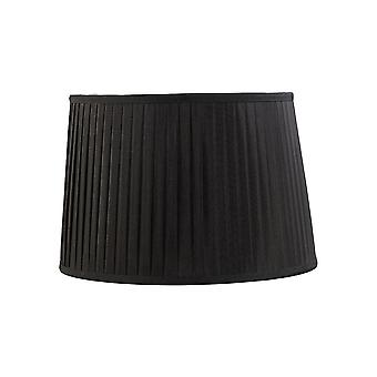 Diyas Stella Round Shade Black 350/400mm X 263mm