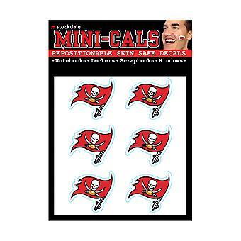 Wincraft 6 naklejki erface 3cm-Tampa Bay Buccaneers