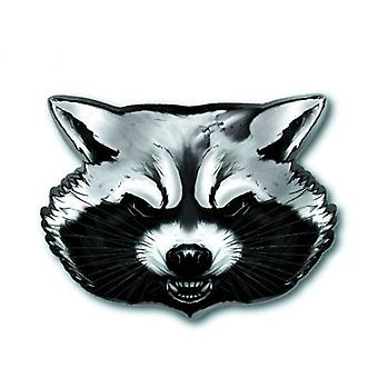 Pin - Guardians of the Galaxy - Rocket Raccoon Pewter Lapel New Licensed 68178