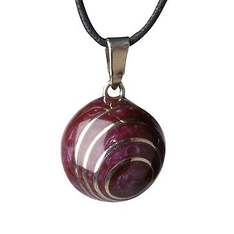 BBSling VK 103 Bola Call Angels Sound Pendant - Purple Aubergine - 2.2 cm