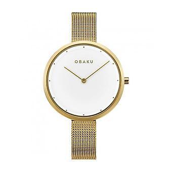 OBAKU - Wristwatch - UNISEX - V227LXGIMG - DOK-GOLD