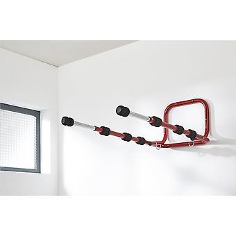 Mottez - Opvouwbaar telescopisch muurrek (4 fietsen)
