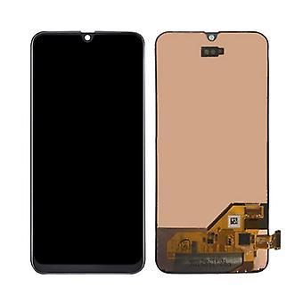 Stuff gecertificeerd® Samsung Galaxy A10 A105 scherm (touchscreen + AMOLED + onderdelen) A + kwaliteit-black-copy