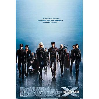 X-Men 2 X2 (Single Sided Style D) Original Cinema Poster
