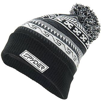 Spyder HERITAGE Men's Bobble Winter Ski Hat Black