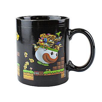 Super Mario, heat changing mug