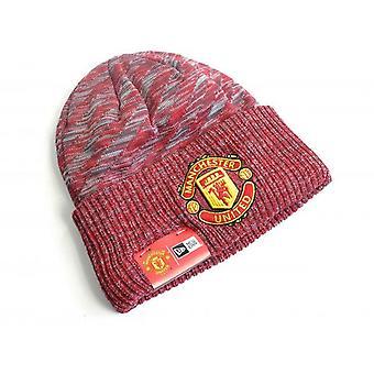 Chapeau en tricot de manchette de Manchester United FC