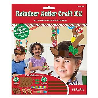 Amscan Reindeer Antler Craft Kit