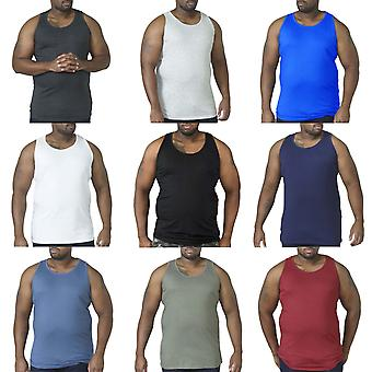 Duke D555 Mens Fabio Big Tall King Size Muscle Sleeveless Tee Singlet Top Vest