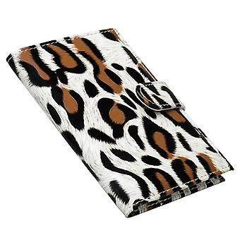 Passport case, Leopard-Beige