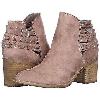 Carlos by Carlos Santana Women's Ashby Ankle Boot, DUSTYMAUVE, 6.5 Medium US