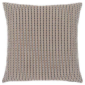 """18"""" x 18"""" Light/Dark Brown, Abstract Dot - Pillow"""