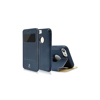 Case For iPhone 8 / IPhone 7 With Marine Blue Visualization Window