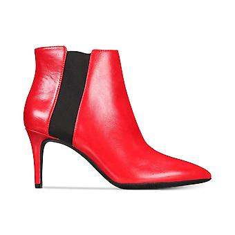 INC International Concepts IRSIA Ankle Booties RED Lava 8.5M