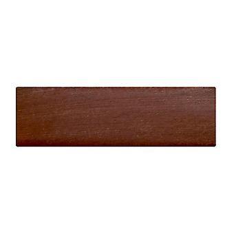 Jambe rectangulaire de meubles en bois de cerise 4.5 cm