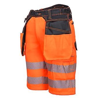 Portwest -PW3 Hi Vis Safety Workwear Holster Shorts