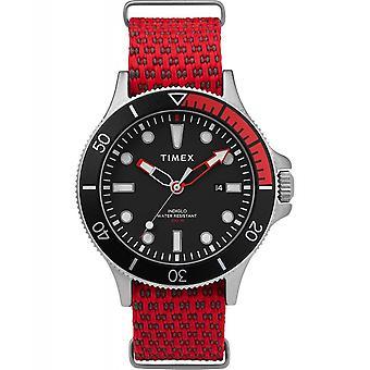 Timex TW2T30300 Allied Coastline Wristwatch Red