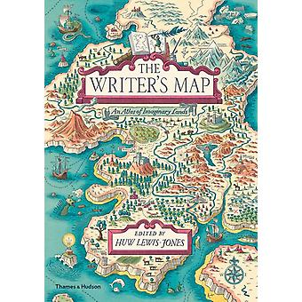 Writers Map by Huw LewisJones