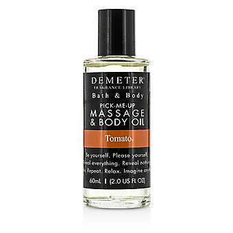 Demeter Tomato Massage & Body Oil 60ml/2oz