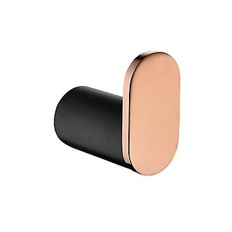 Oro Black And Rose Gold Robe Hook Wall Mounted Stainless Steel
