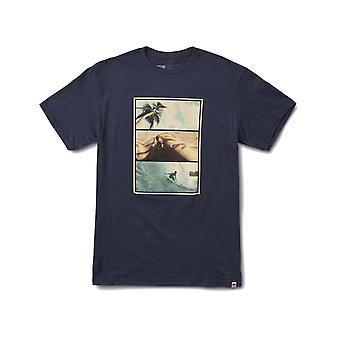 Reef Way Tee Kortärmad T-shirt i marinblå