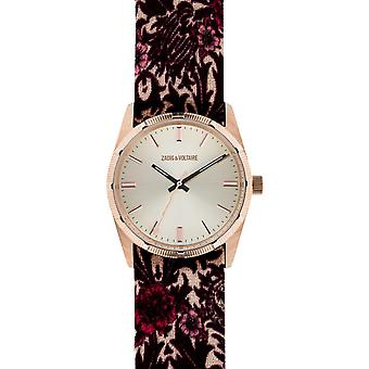 Zadig and Voltaire FUSION ZVF201 - fabric white woman watch