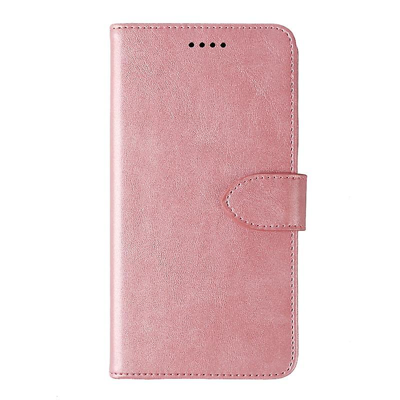 CaseGate phone case for Samsung Galaxy S10 case cover - in pink - lock, stand function and card compartment