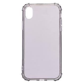 Voor iPhone XS MAX Case, Simple Slim Shockproof Protective Back Thin Cover, Grijs