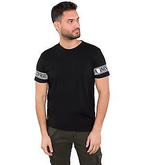 Alpha Industries Men's T-Shirt Sleeve Print